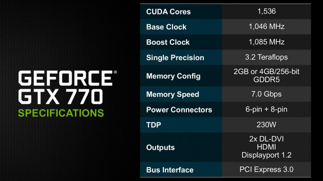 GTX-770-Specifications