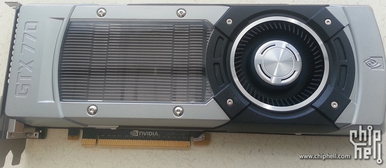 GeForce GTX 770 Chiphell