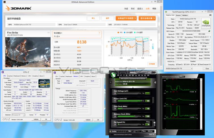MSI GeForce GTX 770 Lightning 3DMark