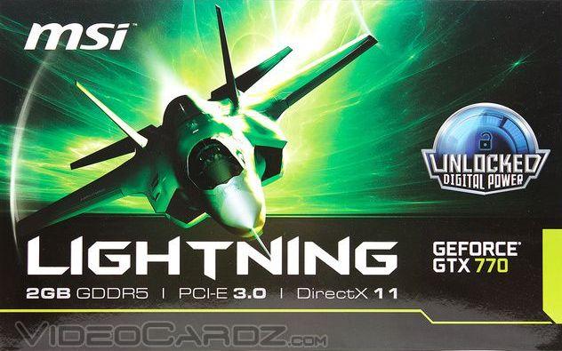 MSI GeForce GTX 770 Lightning BOX