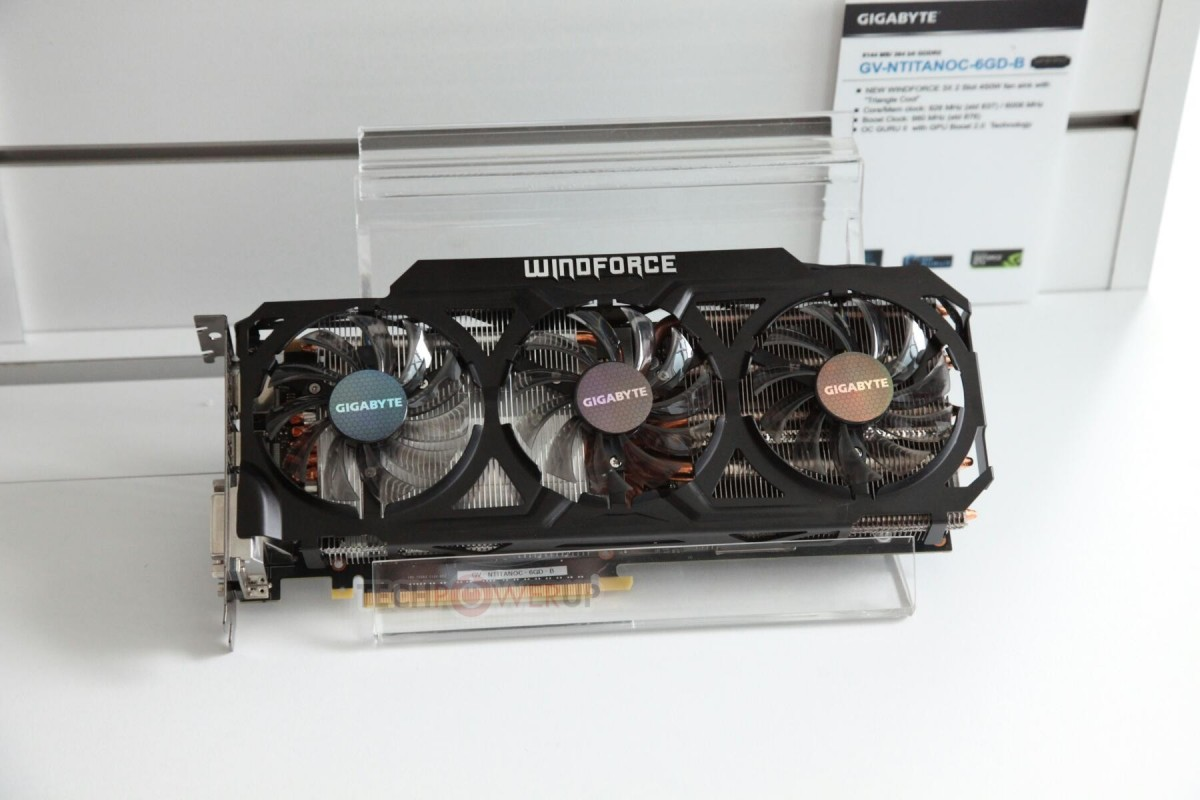 GIGABYTE GTX TITAN WindForce 450W