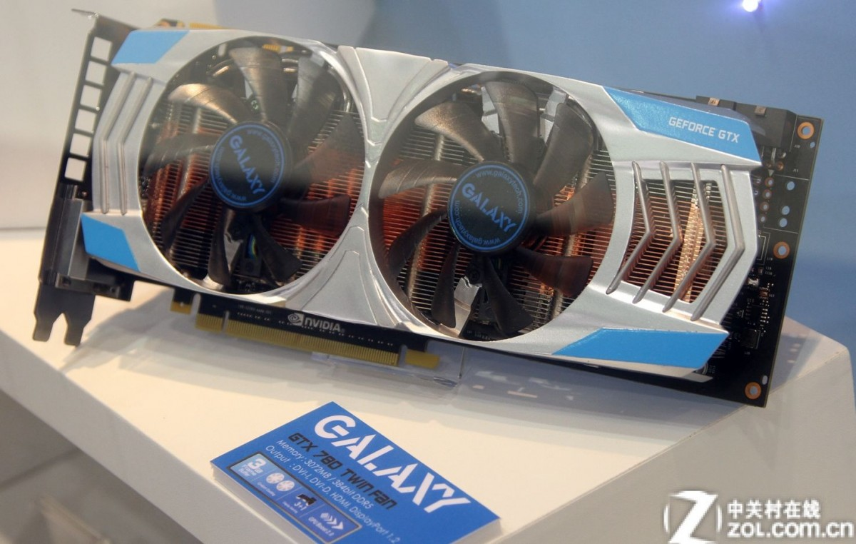 Galaxy GTX 780 Twin Fan