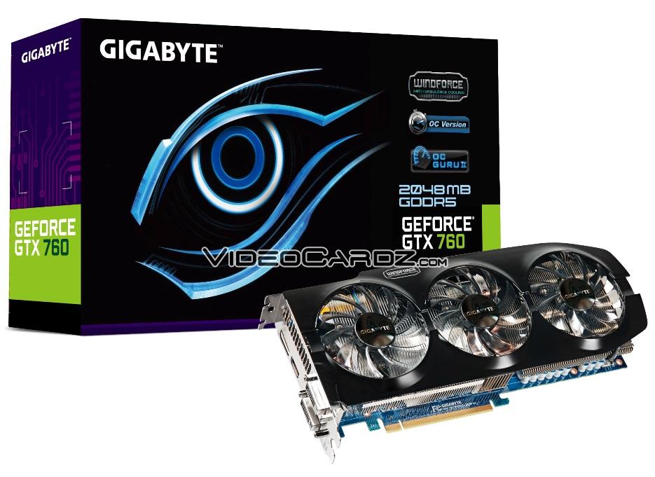 Gigabyte GTX 760 WindForce 3X