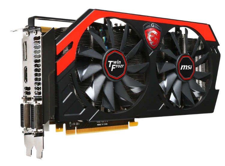 MSI GeForce GTX 760 Twin Frozr Gaming OC