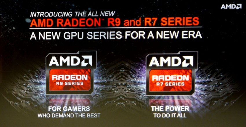 AMD R9 and R7