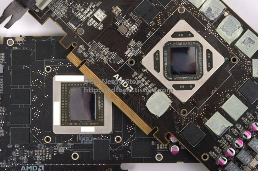 AMD Radeon R9 290X PCB Picture