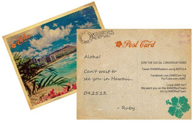 invitation hawaii
