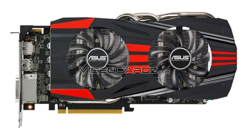 ASUS R9 270X DC2 TOP front