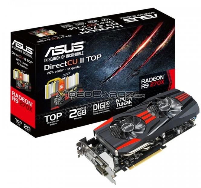 ASUS R9 270X DirectCU2 TOP