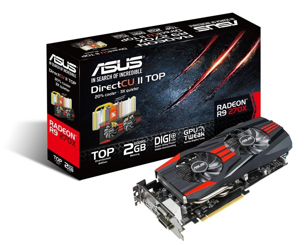 Asus Announces Radeon R9 280x 270x And 260x Directcu Ii Videocardz Com