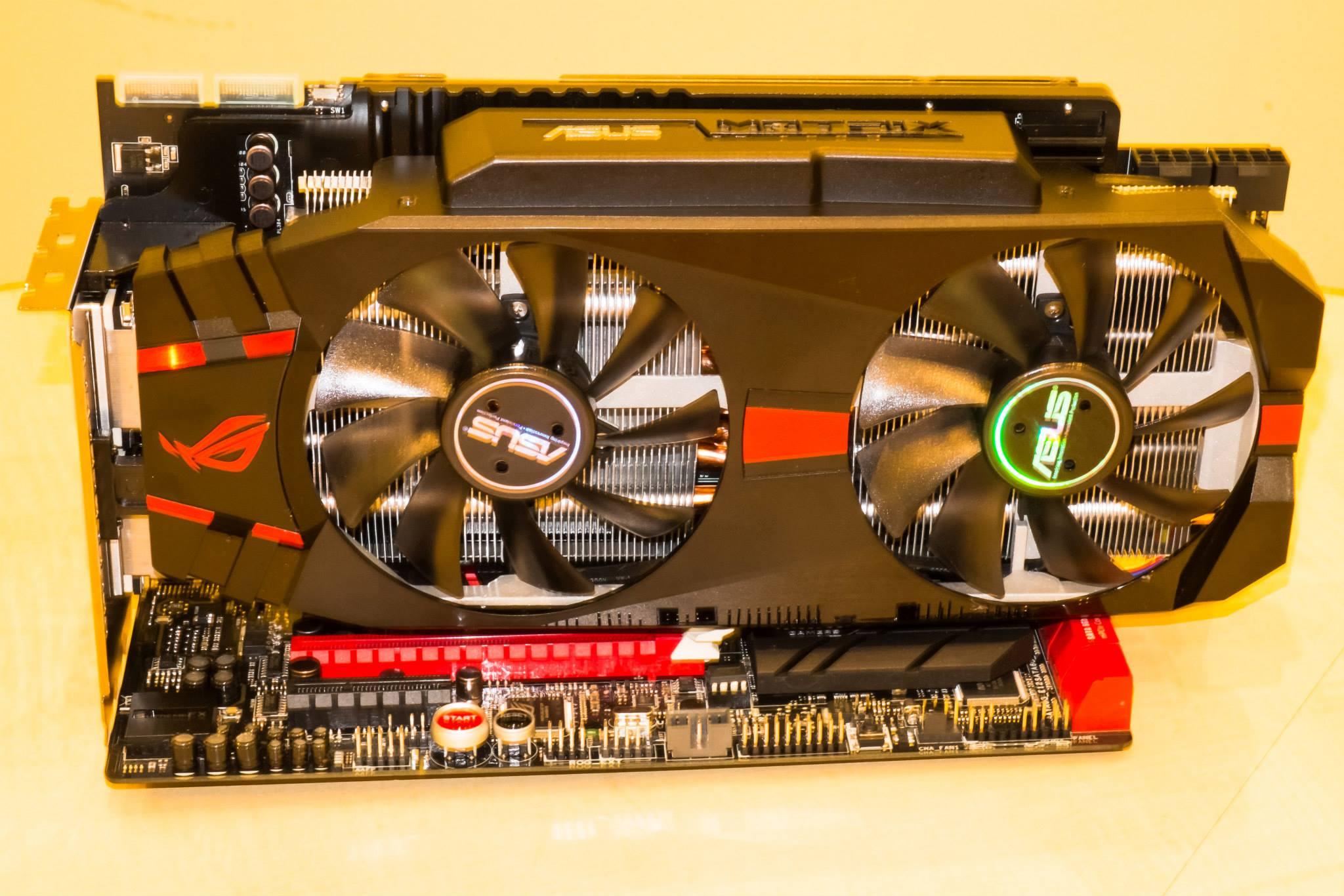 ASUS ROG Matrix R9 280X Platinum Pictured   VideoCardz com