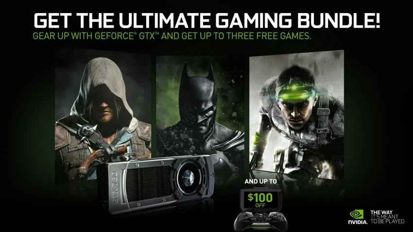 NVIDIA GTX Holiday Bundle