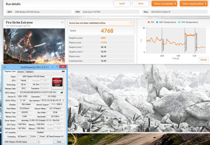 R9 290X 3DMark Fire Strike OC Extreme