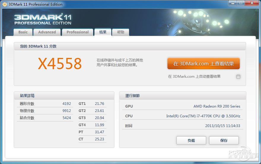 R9 290X 3Dmark11