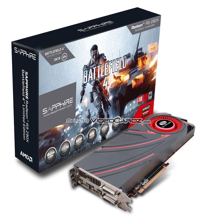 Sapphire Radeon R9 290X Battlefield 4