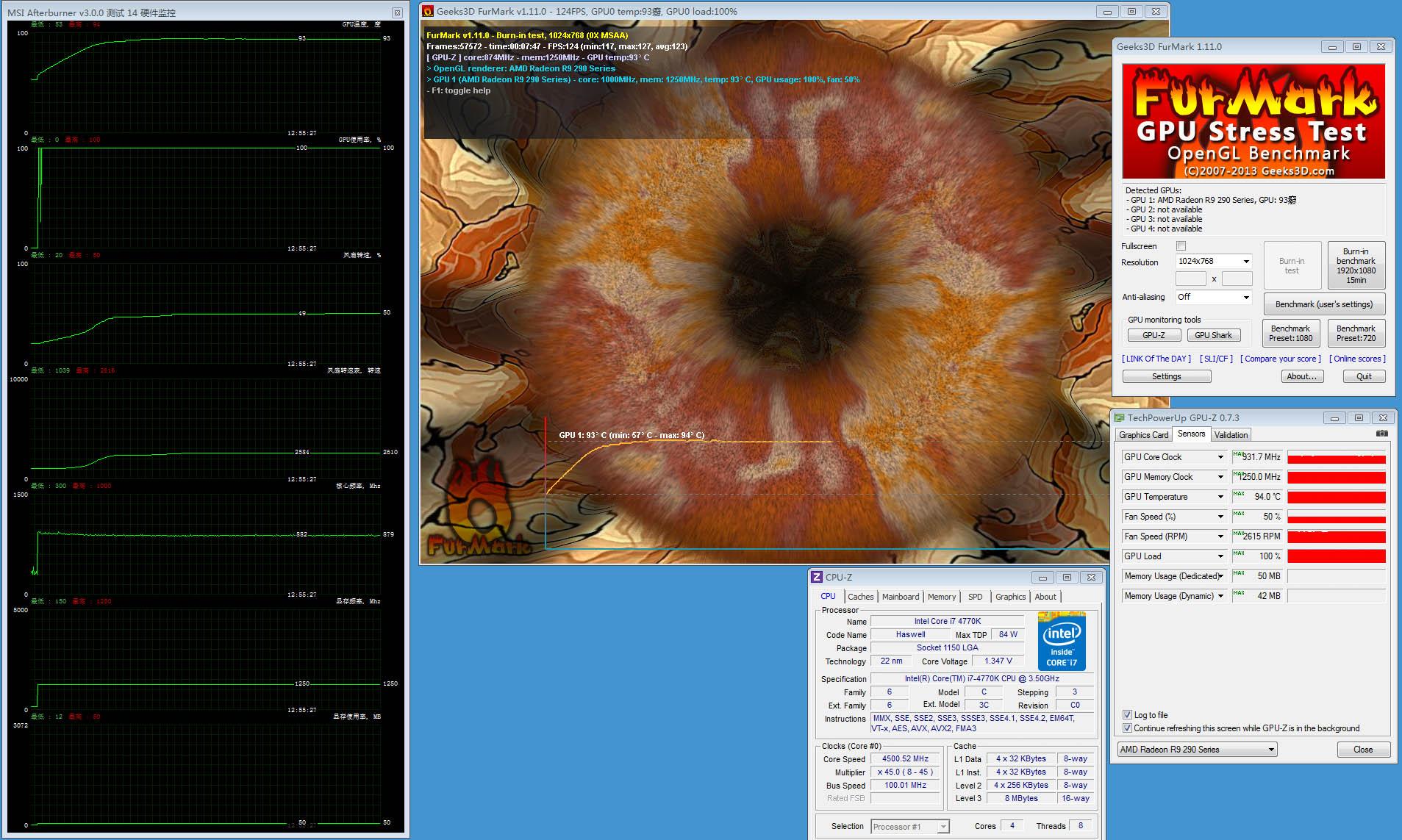 XFX Radeon R9 290X overclocking and temperatures exposed