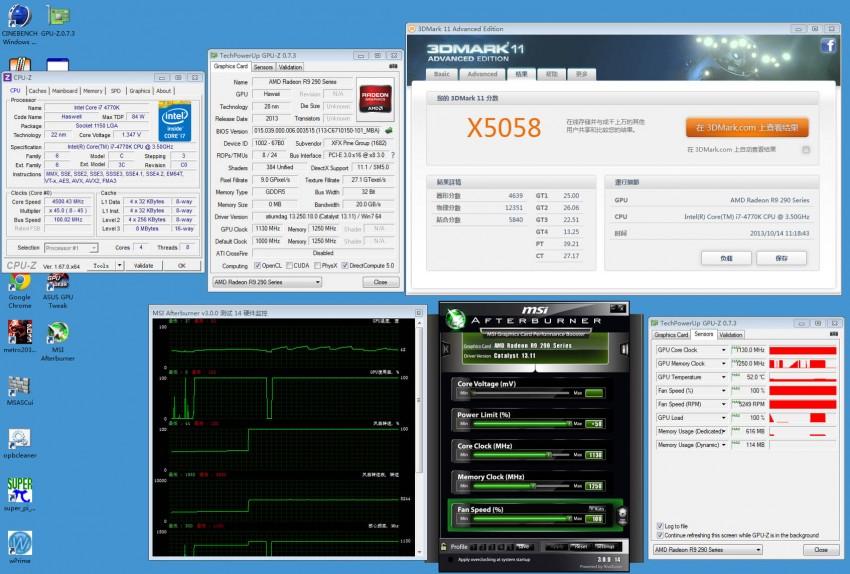 XFX Radeon R9 290X preview 3DMark (2)