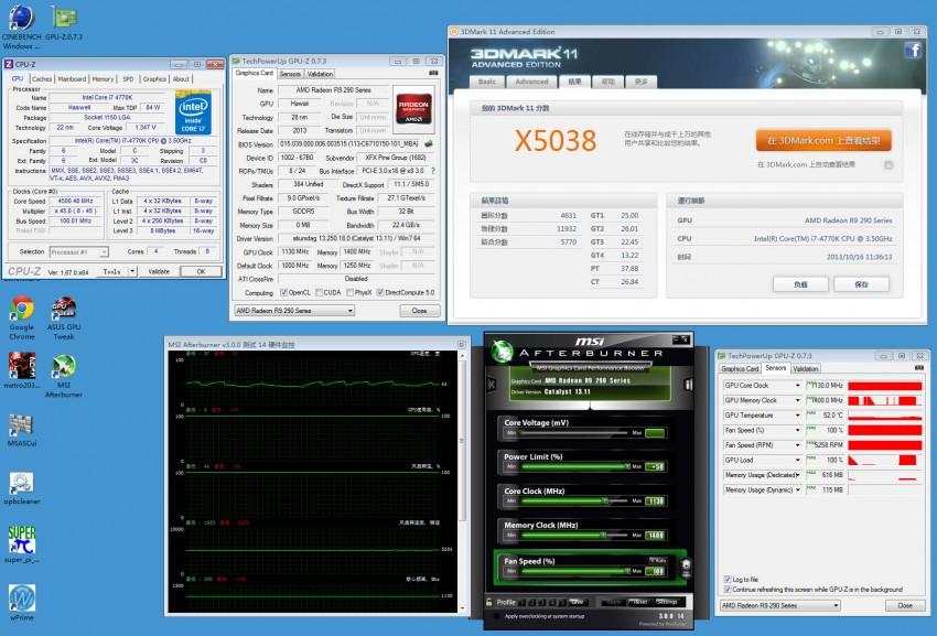 XFX Radeon R9 290X preview 3DMark (3)