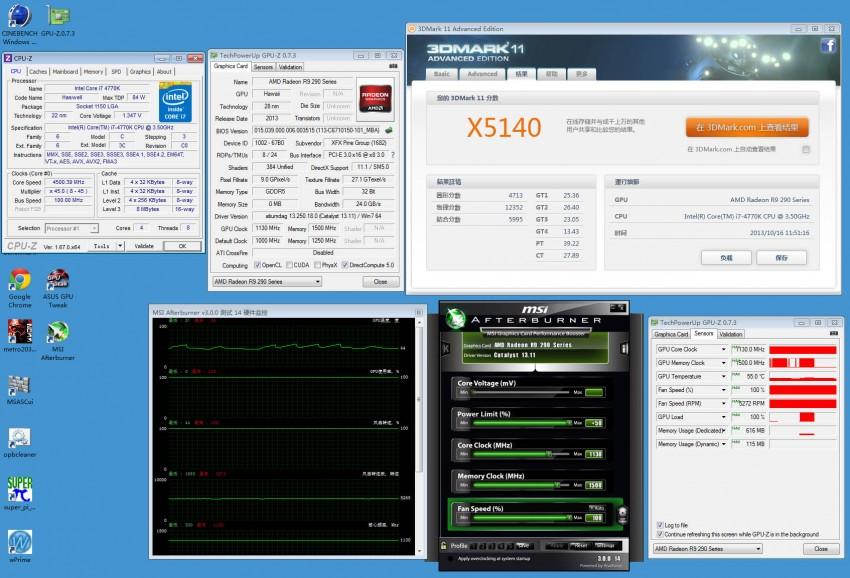 XFX Radeon R9 290X preview 3DMark (5)