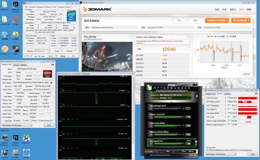XFX Radeon R9 290X preview 3DMark (8)