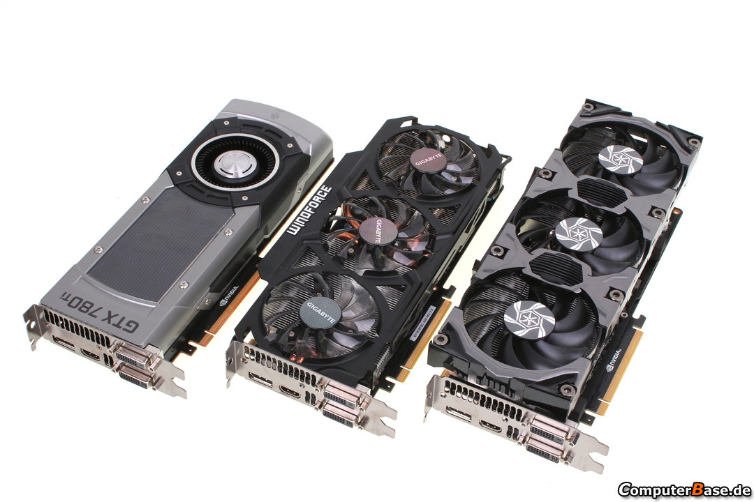 Custom GeForce GTX 780 Ti From Gigabyte And Inno3D Tested