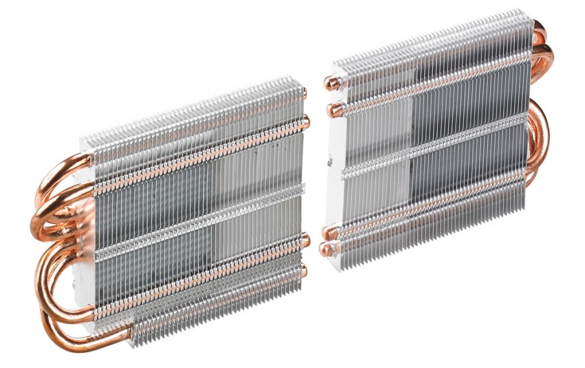 ASUS ROG MARS 760 heat sinks