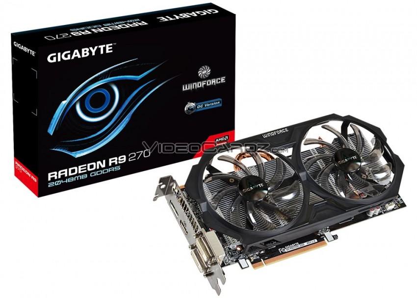 Gigabyte Radeon R9 270 OC