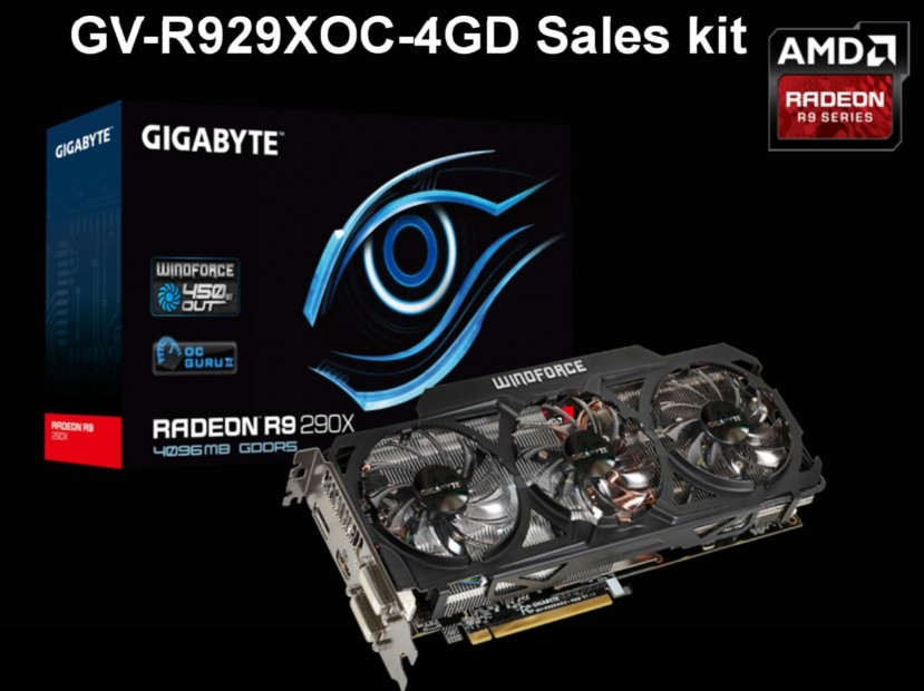 Gigabyte Radeon R9 290X WindForce 3X