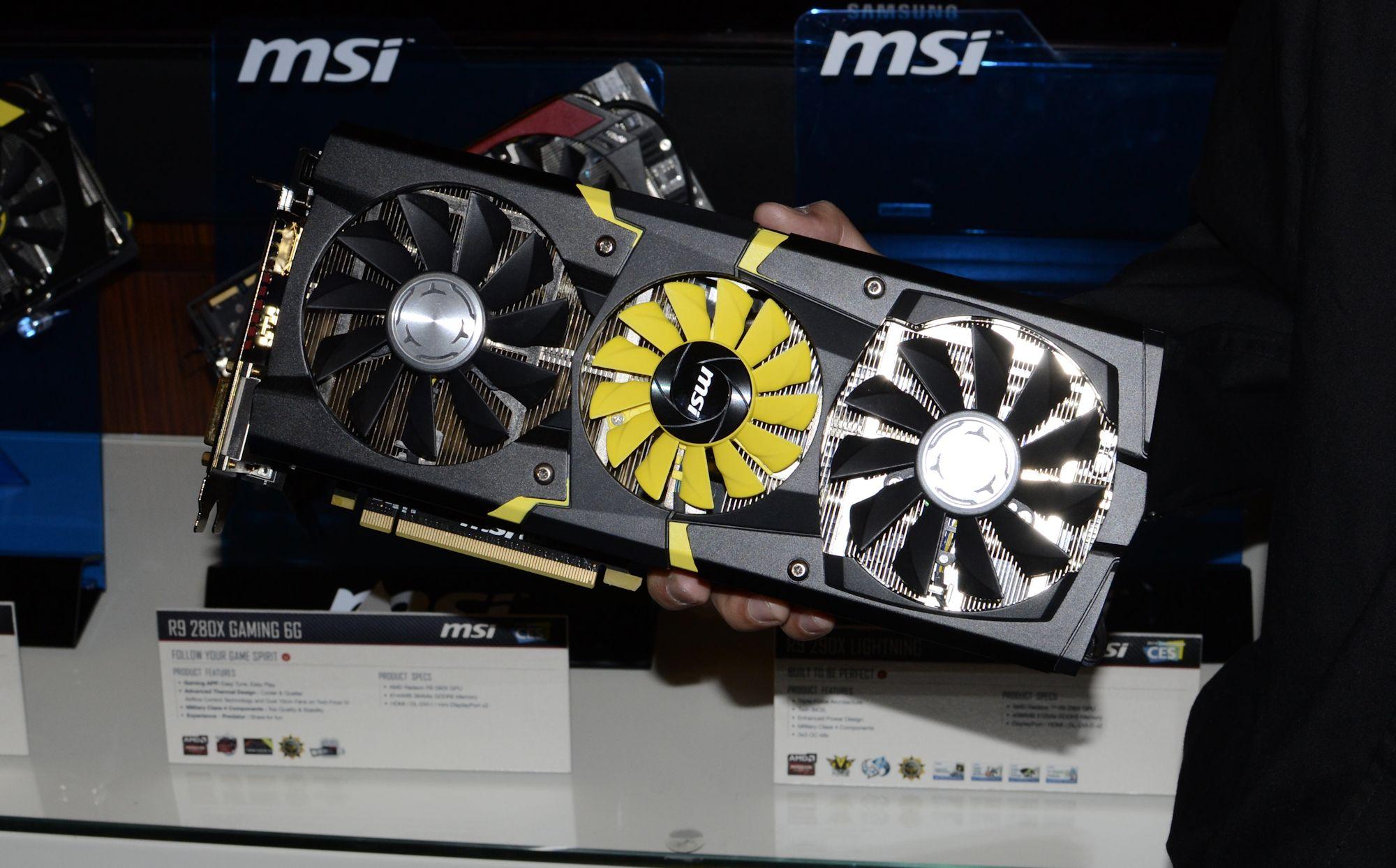 MSI shows off Radeon R9 290X Lightning   VideoCardz com