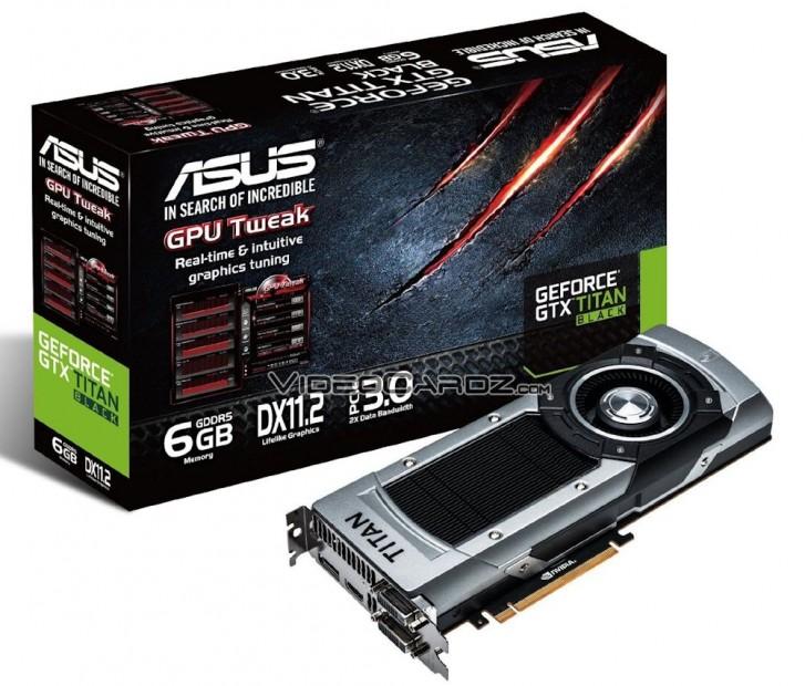 ASUS GeForce GTX TITAN BLACK