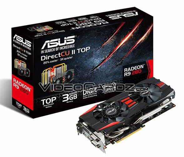 ASUS Radeon R9 280 DirectCU II TOP (1)
