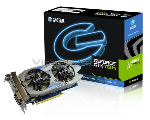 Galaxy GTX 750 Ti GC