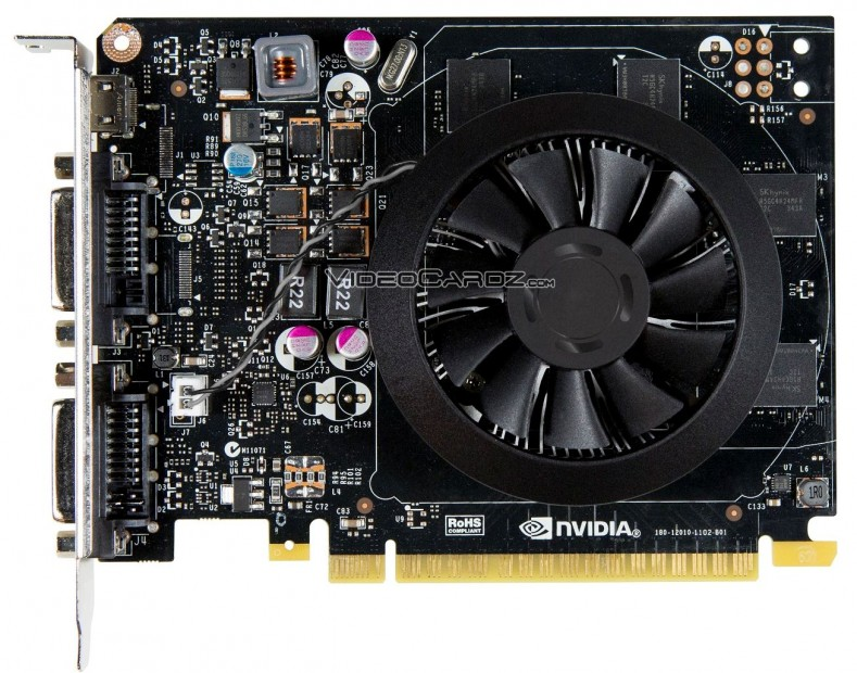 GeForce GTX 750 Ti front