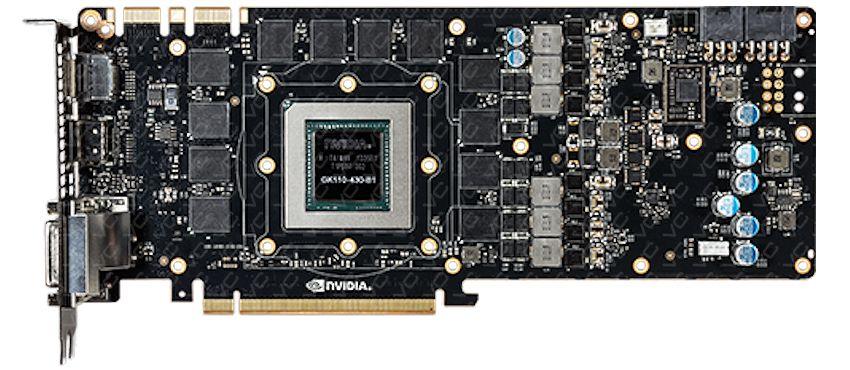 GeForce GTX TITAN BLACK PCB