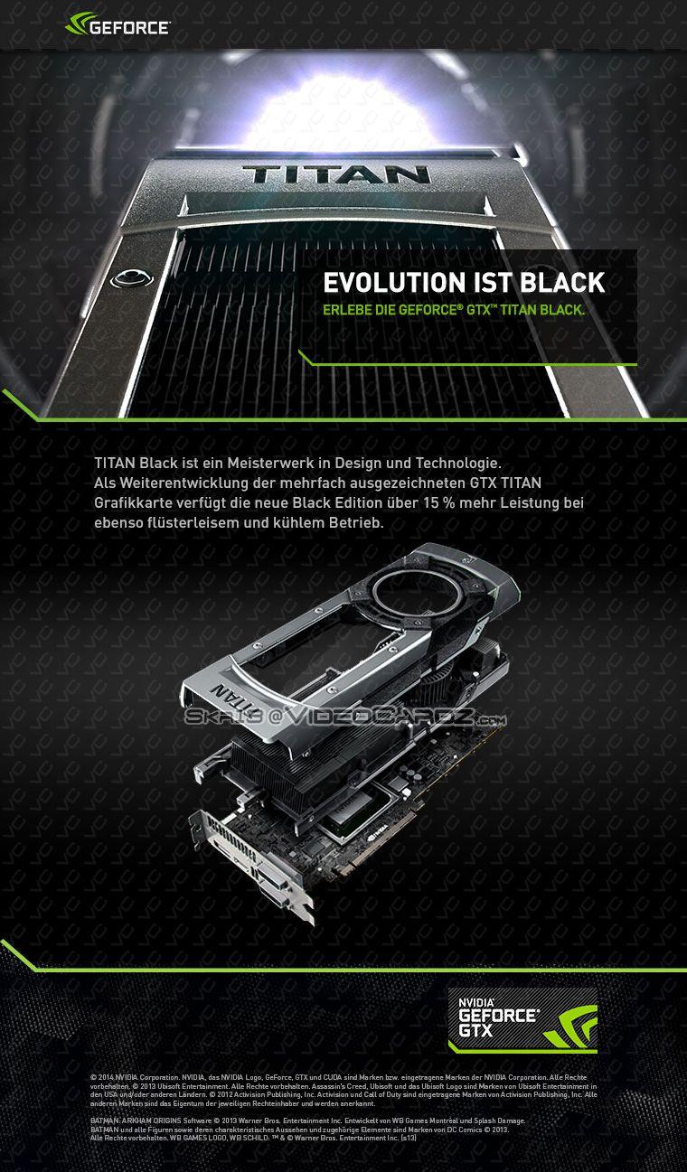 GeForce GTX TITAN BLACK ad