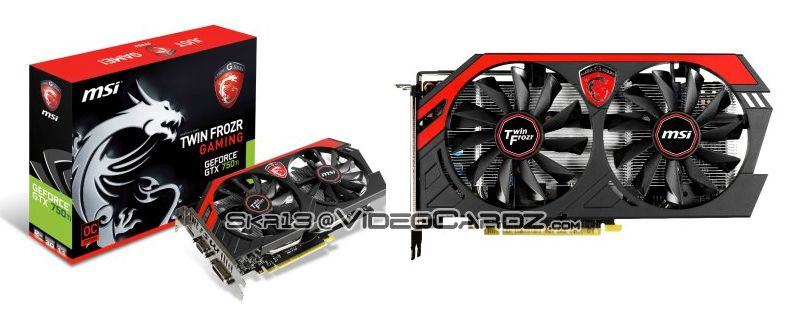 MSI GTX 750 Ti TF 2GB