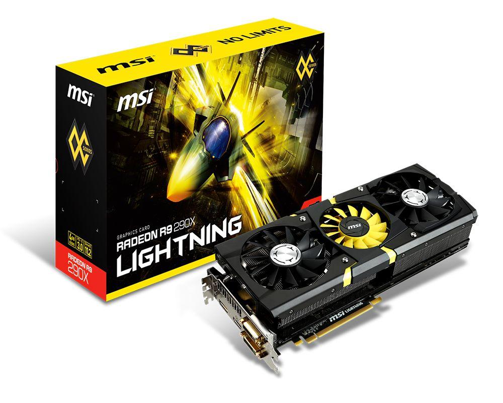 MSI launches Radeon R9 290X Lightning   VideoCardz com