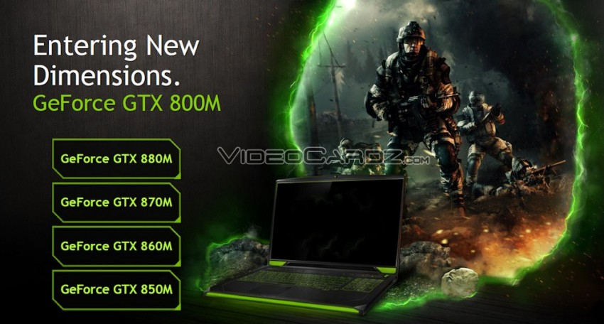 NVIDIA GeForce GT(X) 800M series presentation (3)