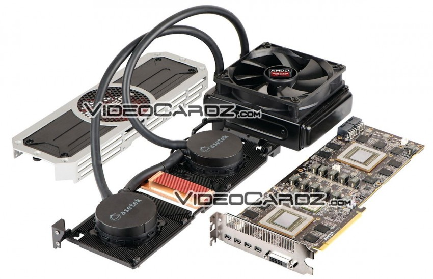 AMD Radeon R9 295X2 Liquid Cooler