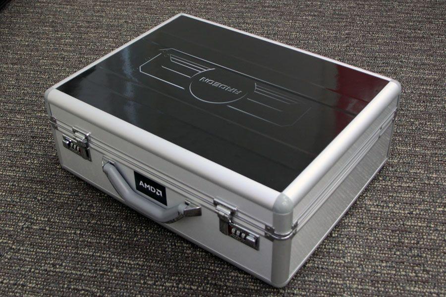 AMD Radeon R9 295X2: The Briefcase Day | VideoCardz com