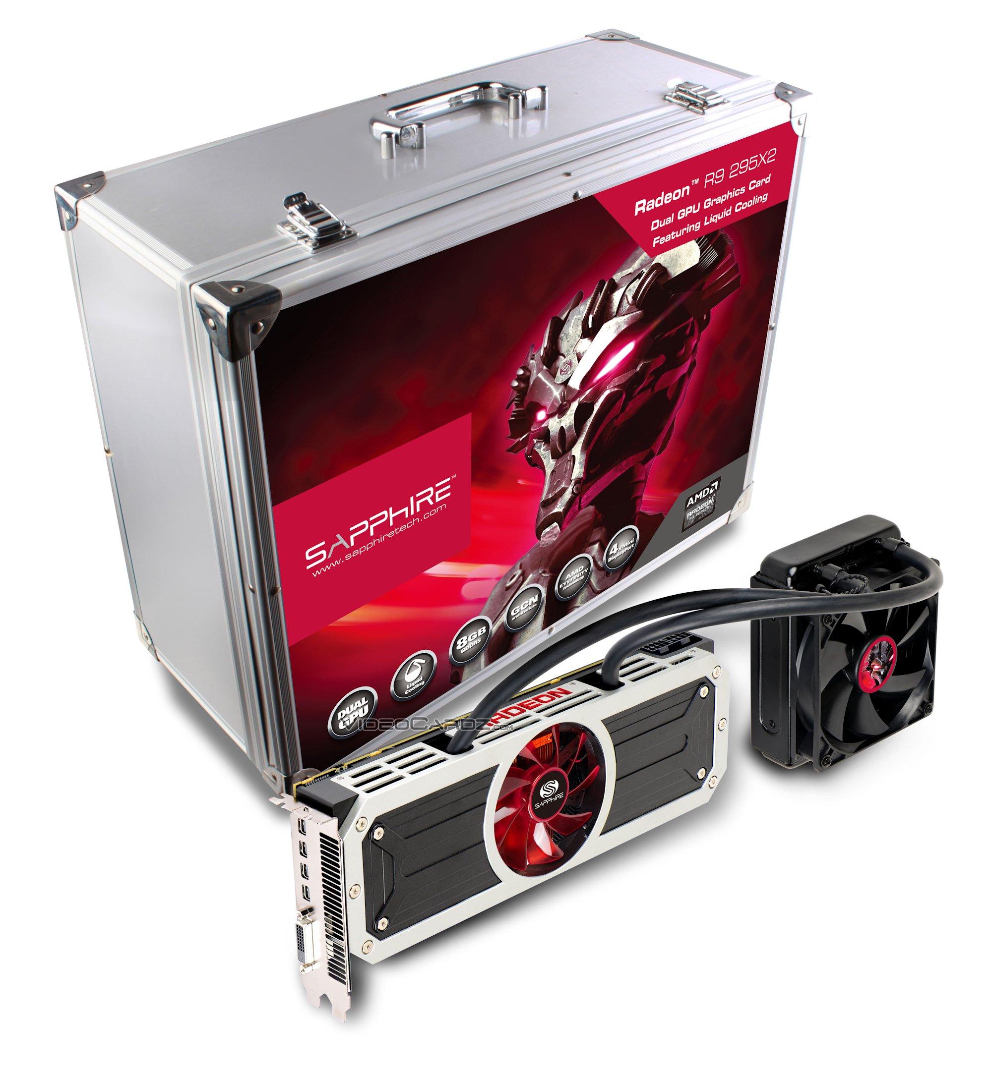 AMD launches Radeon R9 295X2 | VideoCardz com
