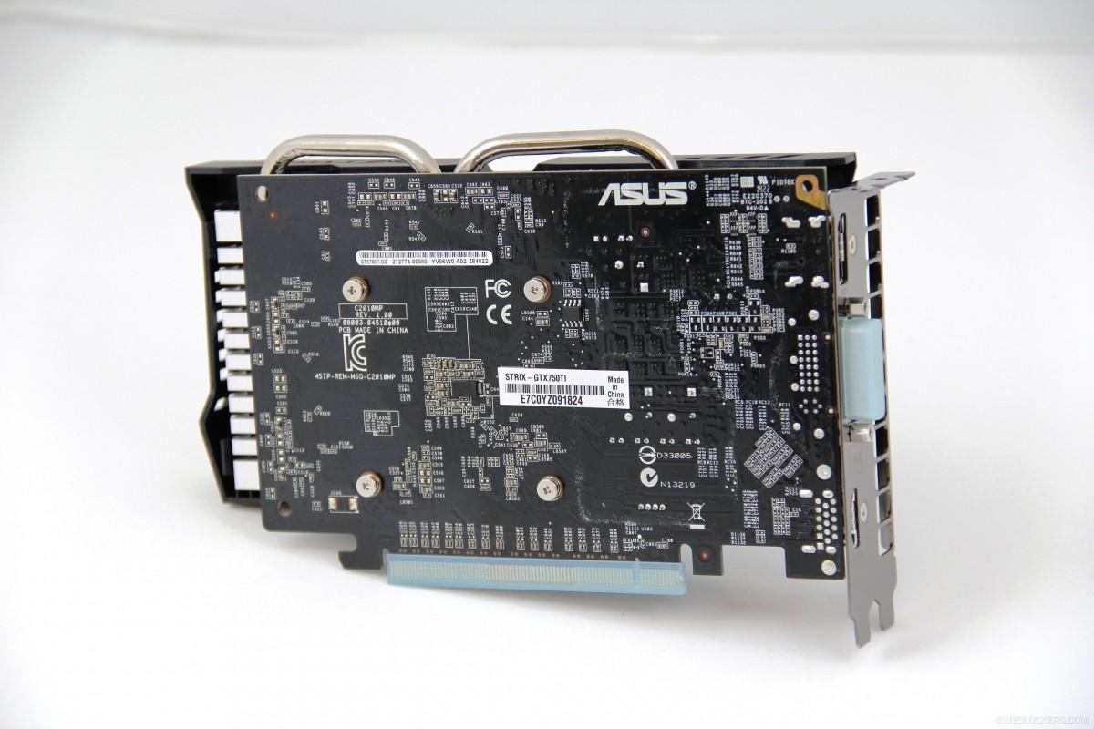 ASUS STRIX 750 TI 3