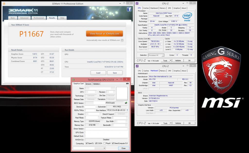 GT72 980M score