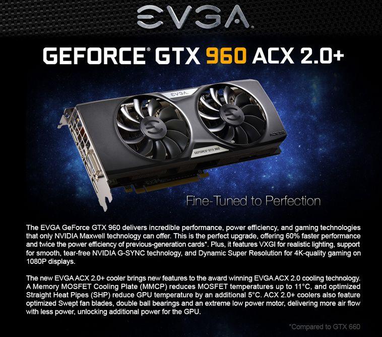 EVGA GTX 960 ad