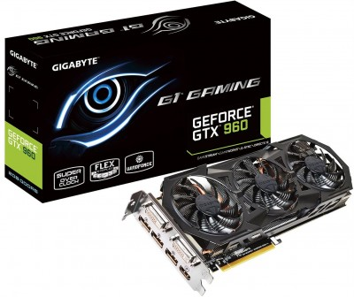 Gigabyte GTX 960 G1 GAMING box