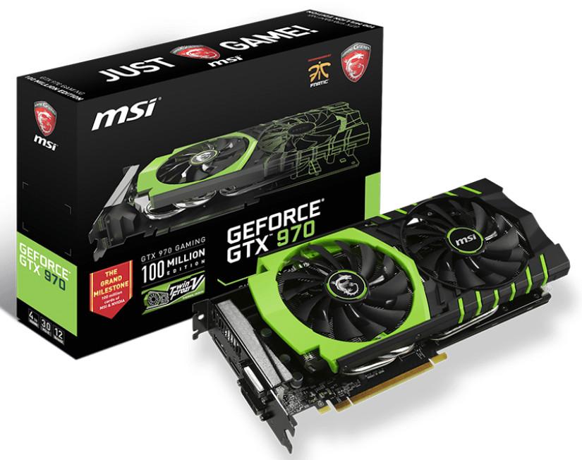 MSI GTX 970 100ME