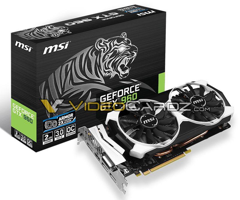 MSI GeForce GTX 960 2GD5 (box)