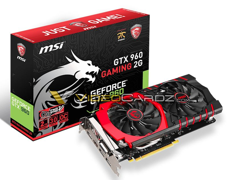 MSI GeForce GTX 960 GAMING 2G (1)