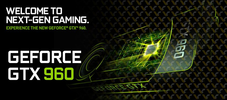 NV GeForce GTX 960 header