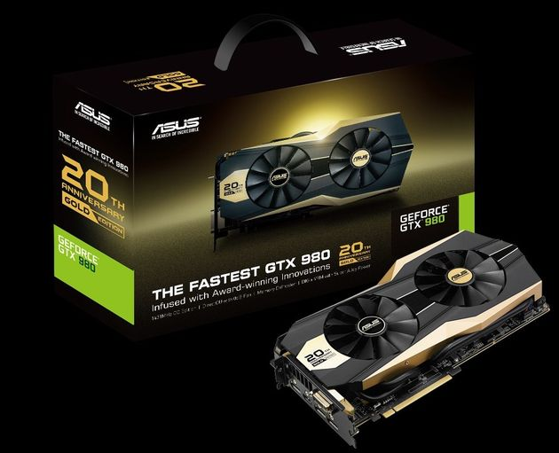 ASUS GTX 980 GOLD EDITION (1)